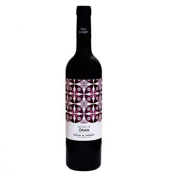 Pétalos de Garnacha vino rosado